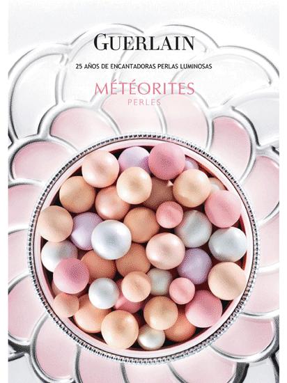 Météorites de Guerlain, polvos sueltos compactos a la violeta. ¡Feliz 25 aniversario!
