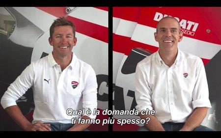 Troy Bayliss y Ernesto Marinelli, cara a cara