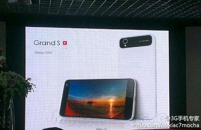 ZTE Grand S: 5 pulgadas, 1080p y sólo 6.9 mm de grosor