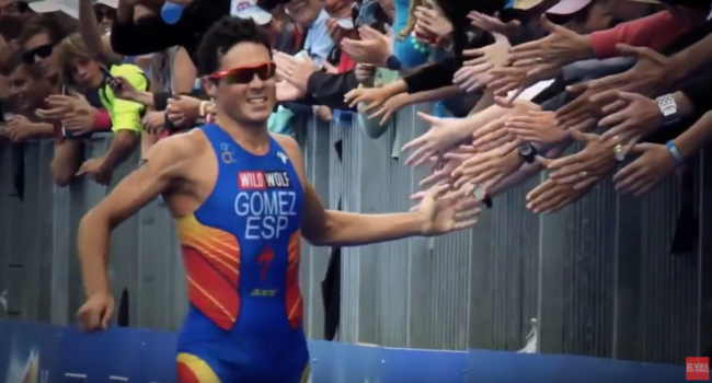 Gómez Noya es motivación pura: ¡a entrenar todo el mundo!