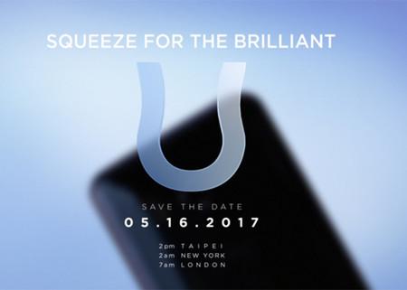 El HTC U será presentado en mayo: el buque insignia llegaría con marco táctil y Snapdragon 835