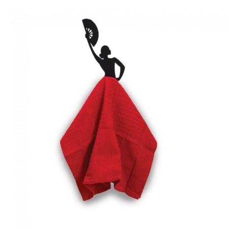 Olé Hook, un bonito colgador para las toallas de cocina