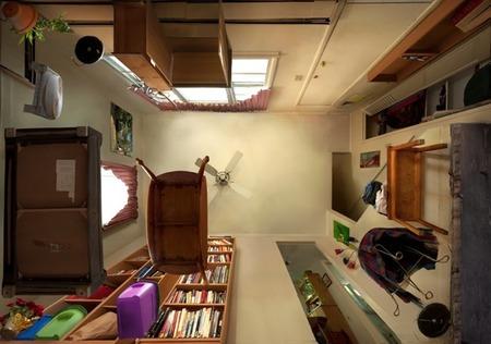 Habitaciones en contrapicado, por Michael Rohde