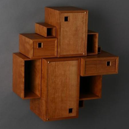 Cinco formas originales de almacenaje en pared