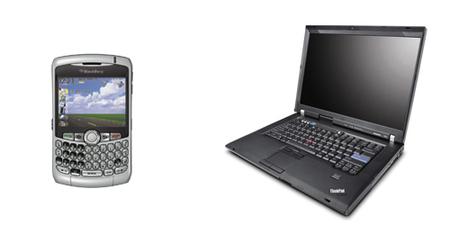 Sincronización de correo entre BlackBerry y los portátiles Thinkpad