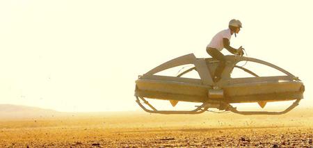 Las aeromotos de Star Wars cada vez más cerca con las primeras pruebas del Aerofex Hoverbike