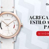 vivomove, el reloj analógico de Garmin que monitorea tu actividad física
