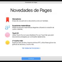 iWork también se actualiza en iOS y macOS: LaTeX y Touch ID para todos