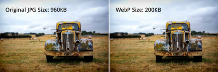 Jpeg Vs Webp En Tamano