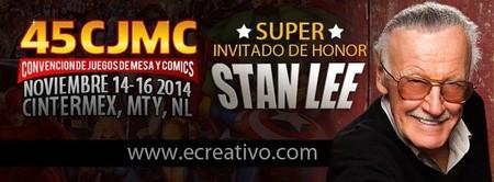 Stan Lee en Monterrey en la próxima CJMC 45