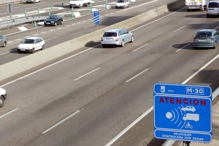 El radar que más multa de España está en Madrid y caza a 167 conductores cada día