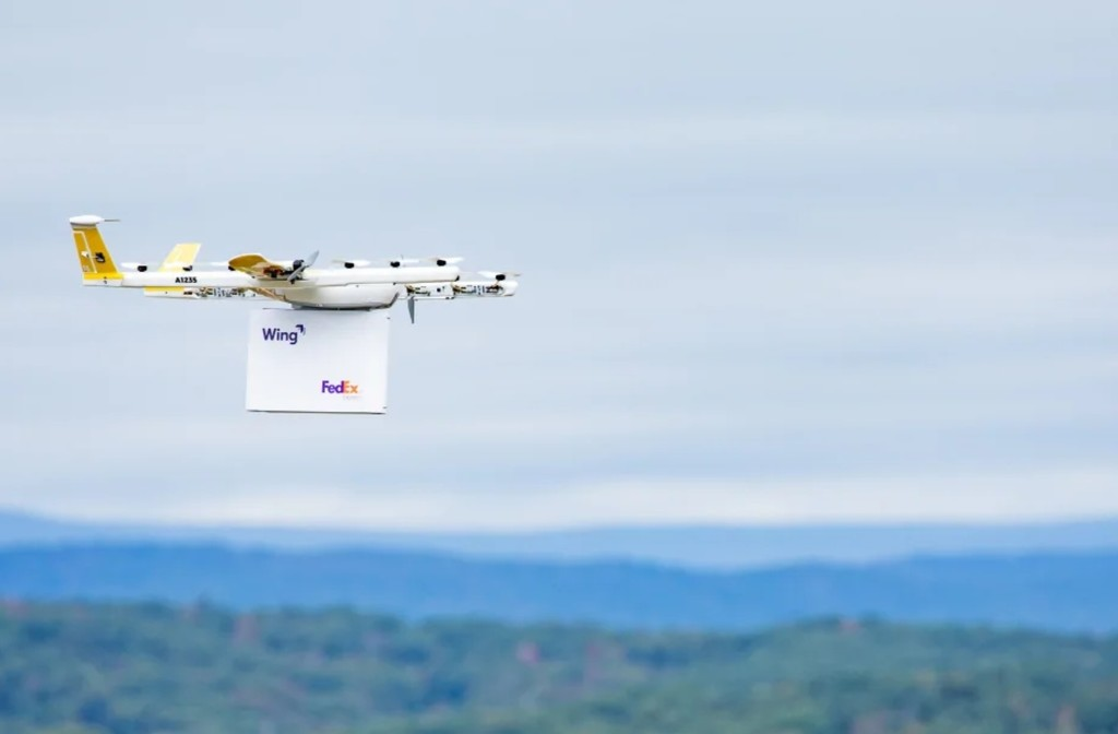 Wing comienza a enviar productos por dron en Estados Unidos y da un paso más en esta revolución de la mensajería