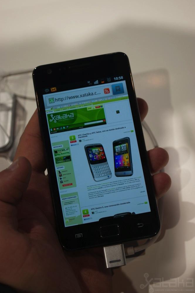 Foto de Samsung Galaxy S II en MWC 2011 (3/4)