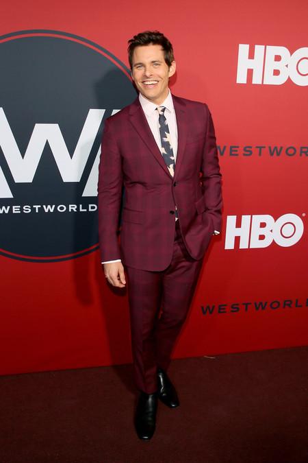 James Marsden Check Look Red Carpet Westworld Premiere 3