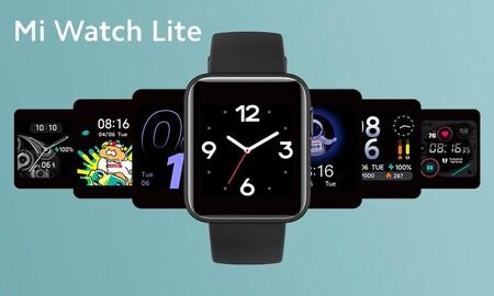 Llega el Xiaomi Mi Watch Lite para plantar cara al Apple Watch y lo hace a tiempo por Navidad: Amazon lo tiene por 49,99 euros