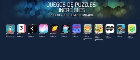 Juegos de Puzzles para iOS en la App store rebajados por tiempo limitado
