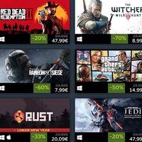 Las rebajas del año nuevo lunar de Steam han llegado y estas son las mejores ofertas