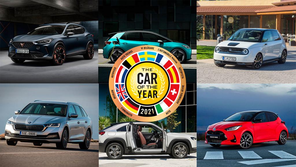 Coche del Año 2021: Volkswagen ID.3, Honda e y CUPRA Formentor aspiran al trono