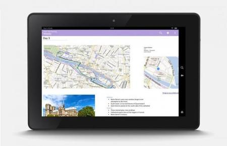 OneNote ahora llega al Kindle Fire y Fire Phone