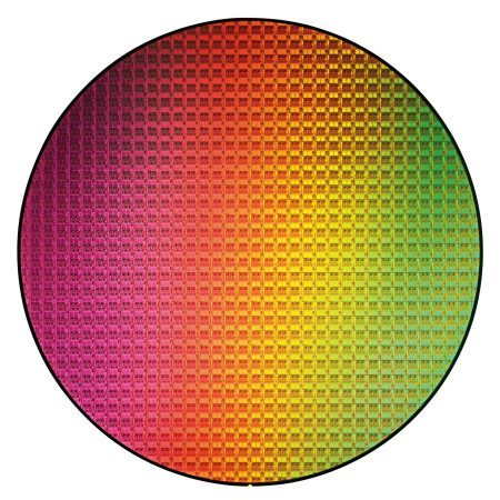 Intel Westmere Wafer