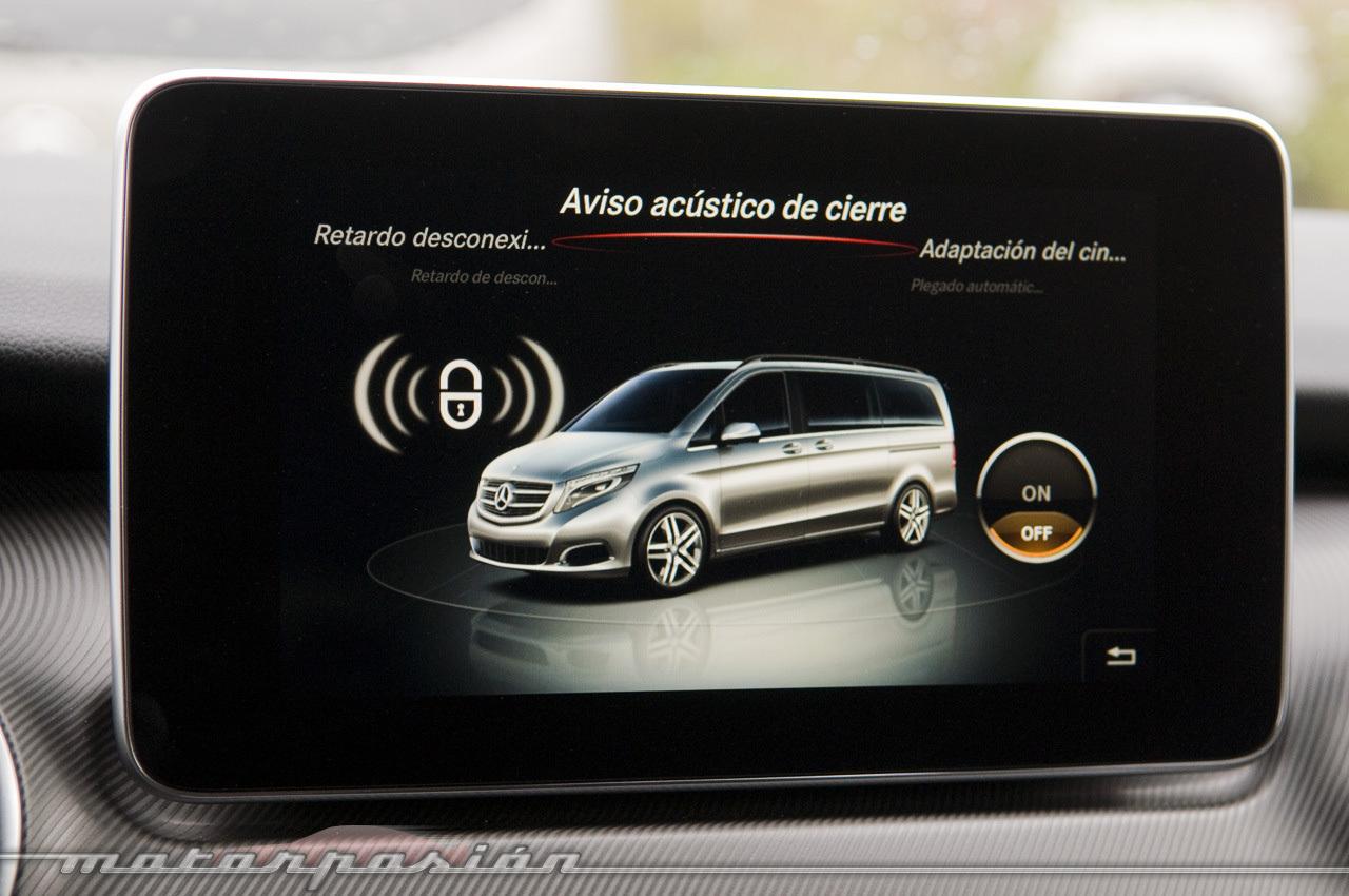 Foto de Mercedes-Benz Clase V (toma de contacto) (39/44)