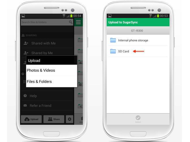 SugarSync 2.0 debuta con nuevo cliente Android