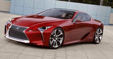 Lexus LF-LC Concept, por fin al descubierto