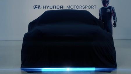 Este misterioso Hyundai anuncia la entrada de la marca en las carreras de coches eléctricos