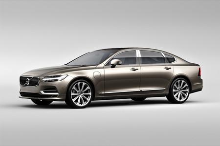El S90, el auto más premium de Volvo, ahora será fabricado en China