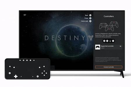Google ya permite usar el móvil como gamepad para jugar a Stadia en la tele sin necesidad de usar un control pad clásico