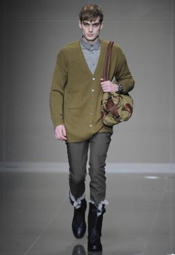 Burberry Prorsum, Otoño-Invierno 2010/2011 en la Semana de la Moda de Milán, botas