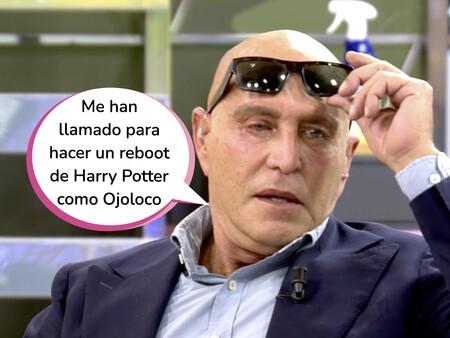 ¡Ostia Pilotes! Este es el motivo por el que Kiko Matamoros ha aparecido en 'Sálvame' con gafas de sol: Tiene el ojo como una albóndiga boloñesa