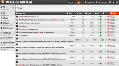 Mega bloquea MegaSearch, un buscador de enlaces