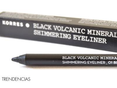 ¿En busca de un lápiz de ojos ultra-negro?: probamos el lápiz de ojos mineral volcánico de Korres