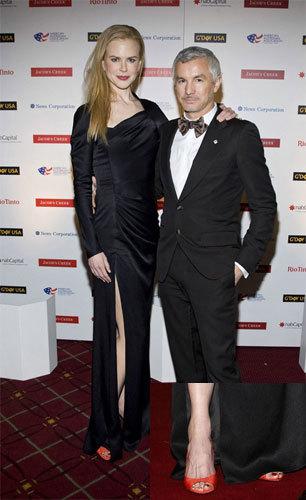 El look de Nicole Kidman en la gala del G-Day australiano