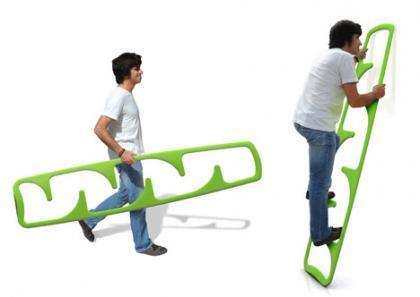 La escalera Cima: ligera y práctica