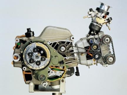 Motor Ducati Supermono
