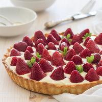 Tarta de fresas glaseadas: la receta de temporada para un postre de lo más vistoso