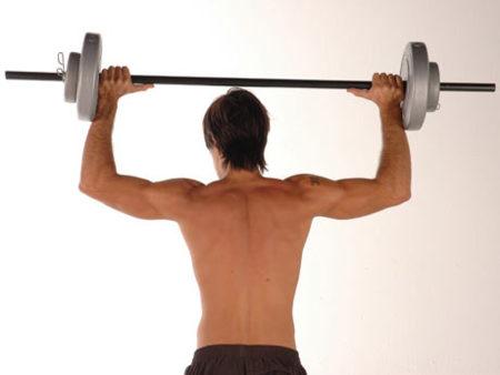 El entrenamiento para ganar peso
