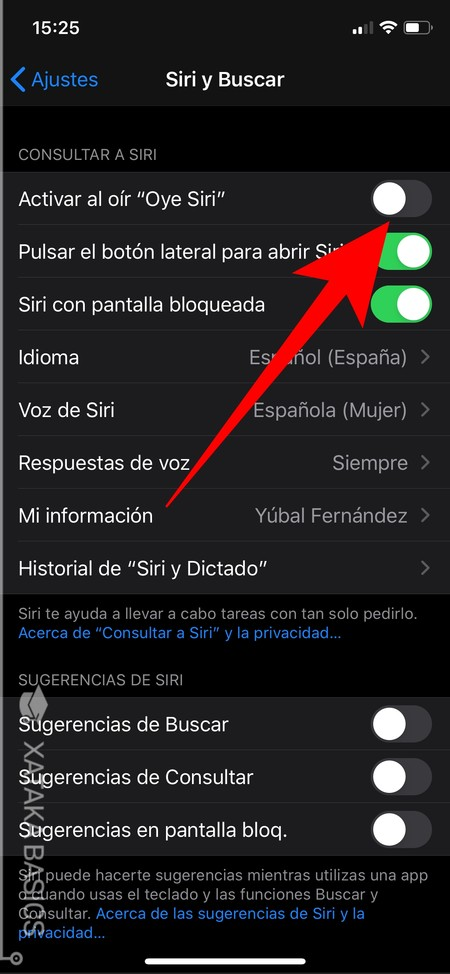 Desactivar Iphone