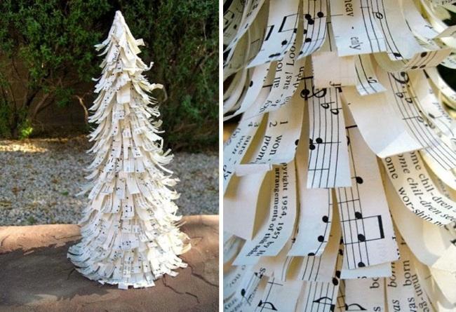 arbol navidad partituras