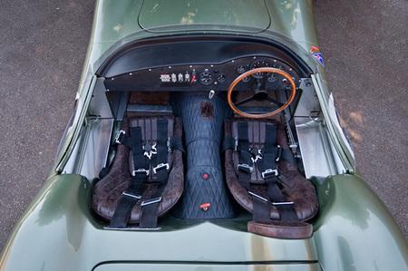 Aston martin DBR1 interior