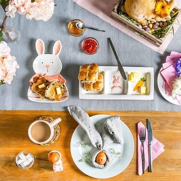 Menaje y accesorios para poner una mesa bonita y original en Pascua