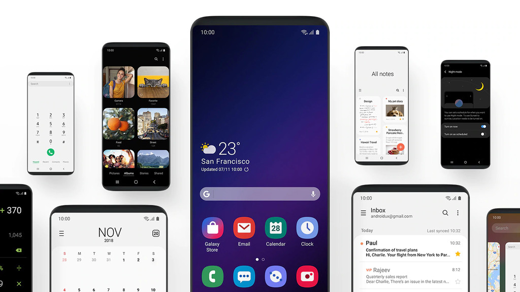 Android-9 Foot arrives in beta for the Samsung Galaxy S9 and S9+: all the news and how to sign up