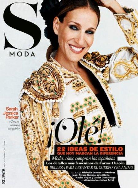 S-Moda la nueva revista de moda y Sarah Jessica Parker más española que nunca