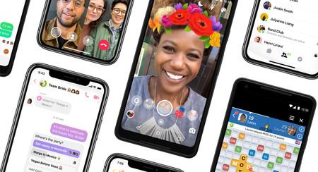 Facebook Messenger se simplifica: menos pestañas, degradados de color y un modo oscuro que llegará más tarde