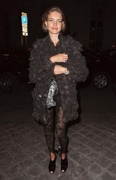 Las celebrities en la Semana de la Alta Costura de París