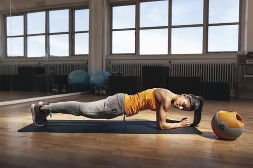 Entrena abdominales en casa - planchas core