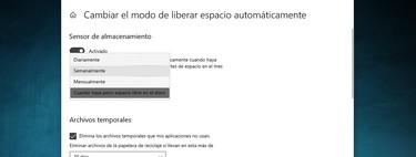 Cómo y por qué borrar automáticamente los archivos temporales de Windows 10