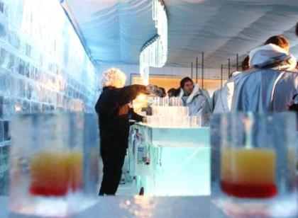 Primer bar de hielo en Asia, en la ciudad de Shangai